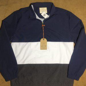 Áo khoác nam hiệu Weatherproof dài tay sọc ngang 3 màu size M chính hãng