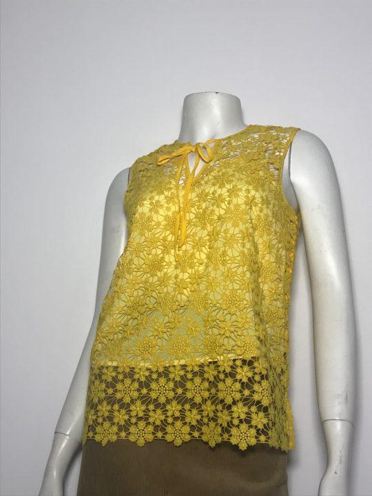 Áo-kiểu-ren-nữ-cao-cấp-hiệu-Juicy-Couture-không-tay-cổ-tim-có-thắt-nơ-size-XS-chính-hãng