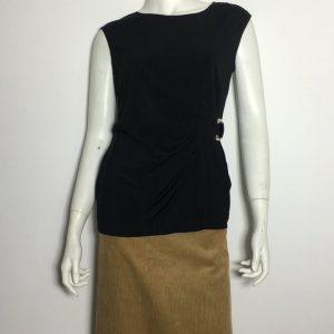 Áo-kiểu-thun-nữ-hiệu-Calvin-Klein-không-tay-cổ-thuyền-màu-đen-size-S-chính-hãng