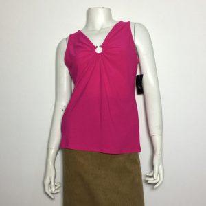 Áo-kiểu-thun-nữ-hiệu-I.N.C-không-tay-cổ-chữ-V-màu-hồng-size-M-chính-hãng