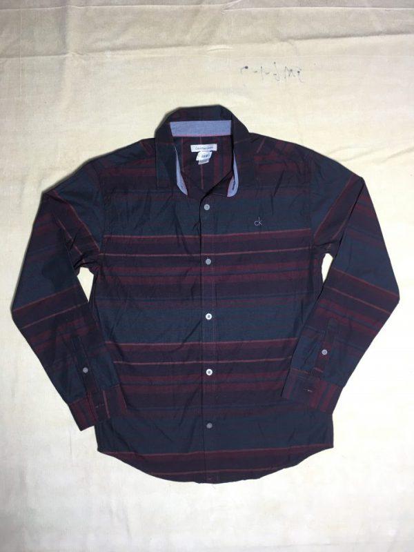Áo-sơ-mi-nam-Calvin-Klein-Jeans-bằng-cotton-tay-dài-sọc-nhuyễn-ngang-size-L-chính-hãng