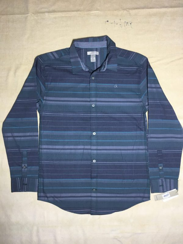 Áo-sơ-mi-nam-Calvin-Klein-Jeans-bằng-cotton-tay-dài-sọc-nhuyễn-ngang-size-XL-chính-hãng