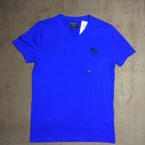 Áo-thun-nam-AbercrombieFitch-100-cotton-cổ-tròn-ngắn-tay-màu-xanh-size-S-chính-hãng