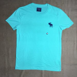 Áo-thun-nam-AbercrombieFitch-cổ-tròn-ngắn-tay-màu-xanh-size-S-chính-hãng