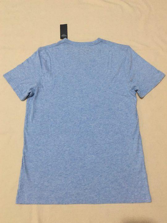 Áo-thun-nam-AbercrombieFitch-cotton-cổ-tim-tay-ngắn-màu-xanh-xám-size-S-chính-hãng_sau