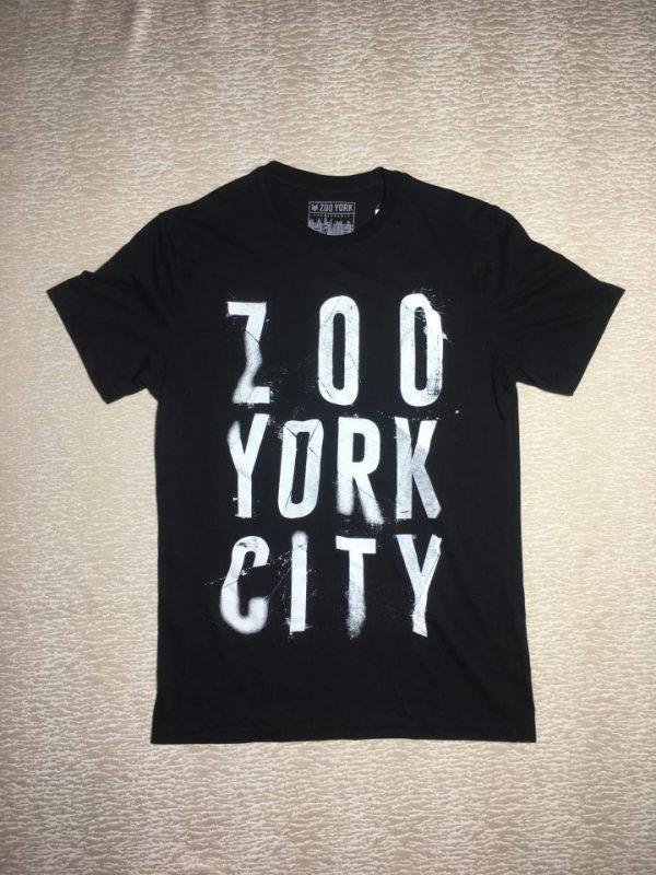 Áo-thun-nam-Zoo-York-100cotton-cổ-tròn-tay-ngắn-màu-đen-size-S-chính-hãng