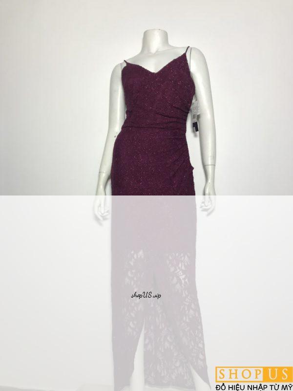 Đầm-dài-dự-tiệc-cao-cấp-nữ-ren-2-dây-có-đính-kim-sa-hiệu-Aqua-dresses-màu-đỏ-đô-size-4-chính-hãng