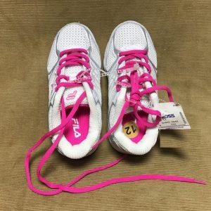 Giày-thể-thao-bé-trai-bé-gái-hiệu-Fila-màu-trắng-dây-thắt-màu-hồng-size-US-12-chính-hãng-3