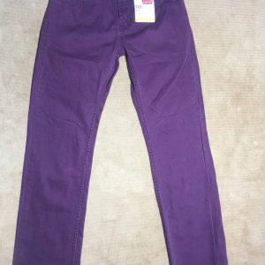 Quần-jeans-dài-cotton-nữ-đáy-ngắn-ống-đứng-hiệu-511-Levi's-slim-fit-màu-xám-size-10-12-14-chính-hãng_trước
