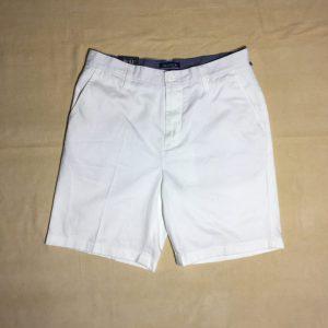Quần short nam Nautica cotton màu trắng size 30W chính hãng