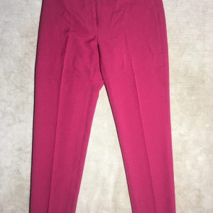 Quần-tây-công-sở-ống-ôm-nữ-có-túi-kiểu-sau-hiệu-Anne-Klein-màu-đỏ-đô-size2-chính-hãng