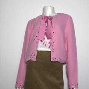 Áo-khoác-nữ-tay-dài-hiệu-Juicy-Couture-màu-hồng-cổ-có-nơ-size-S-chính-hãng_trước