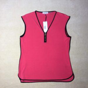 Áo-kiểu-thun-nữ-không-tay-hiệu-Calvin-Klein-màu-đỏ-size-S-chính-hãng-trước