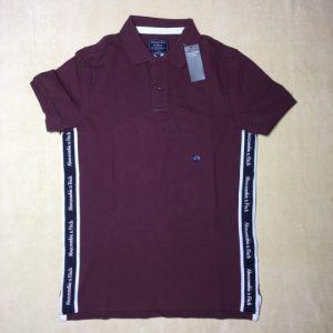 Áo-thun-nam-AbercrombieFitch-100-cotton-cổ-bẻ-ngắn-tay-màu-tím-size-S-chính-hãng-trước