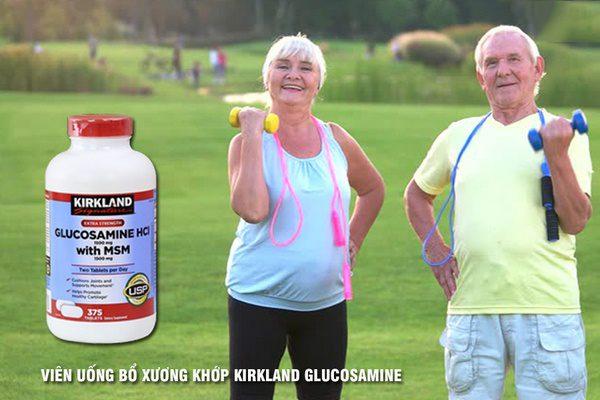 Thực-phẩm-chức-năng-Glucosamine-HCL-1500mg-Kirkland-with-MSM-1500mg-nắp-đỏ-chính-hãng-100