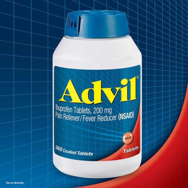 Thuốc-giảm-đau-hạ-sốt-Advil-Ibuprofen-200mg-hàng-xách-tay-chính-hãng