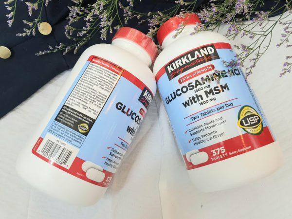 Vien-bo-khop-Kirkland-Glucosamine-HCL-va-MSM-1500mg-chinh-hang