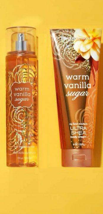 Bộ-xịt-toàn-thânbody-mist-dưỡng-thể-Warm-vanilla-sugar-Bath-body-works-chính-hãng