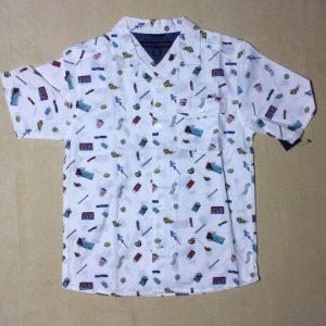Áo-sơ-mi-tay-ngắn-cổ-bẻ-bé-trai-màu-trắng-hiệu-Tommy-Hilfiger-size-812-hàng-xách-tay-mỹ