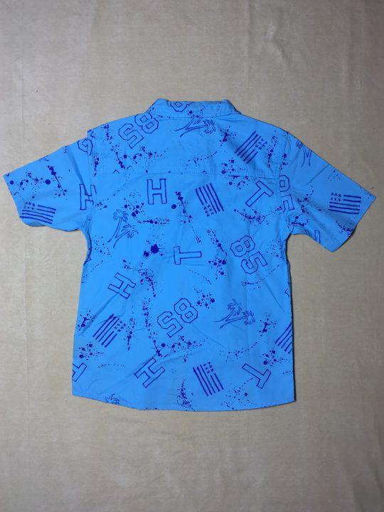 Áo-sơ-mi-tay-ngắn-cổ-bẻ-bé-trai-màu-xanh-hiệu-Tommy-Hilfiger-size-81216-hàng-xách-tay-mỹ-1