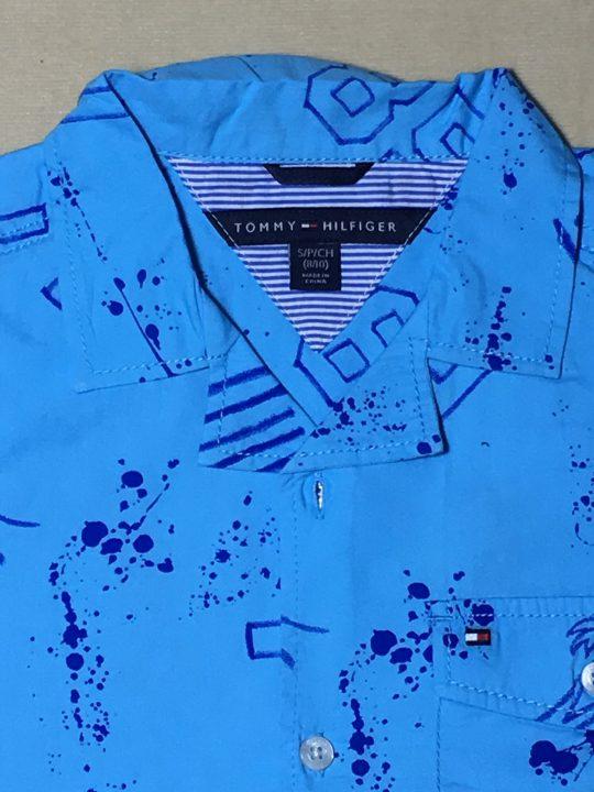 Áo-sơ-mi-tay-ngắn-cổ-bẻ-bé-trai-màu-xanh-hiệu-Tommy-Hilfiger-size-81216-hàng-xách-tay-mỹ-2