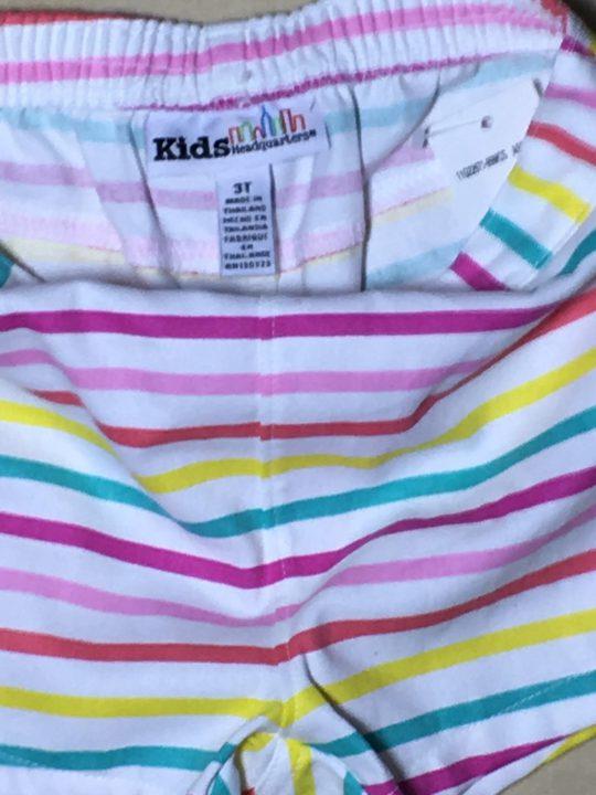 Quần-đùi-baby-cotton-sọc-ngang-nhiều-màu-hiệu-Kids-size-3T-hàng-xách-tay-mỹ-1