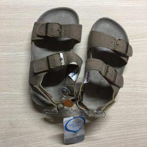 Dép-sandal-trẻ-em-bé-trai-bé-gái-hiệu-Carters-màu-nâu-đất-size-US-11-chính-hãng
