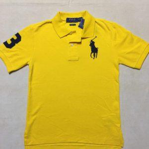 Áo-thun-bé-trai-8-tuổi-18-20-tuổi-tay-ngắn-cổ-bẻ-cotton-màu-vàng-hiệu-Polo-Ralph-Lauren-kiểu-classic-fit-size-S-XL-hàng-xách-tay-mỹ