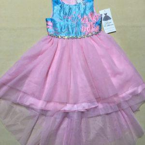 Đầm-xòe-công-chúa-bé-gái-6-7tuổi-đẹp-không-tay-đính-kim-tuyến-ở-eo-bụng-màu-hồng-chân-váy-ren-dễ-thương-size-6-hiệu-Rare-Editions-hàng-xách-tay-mỹ