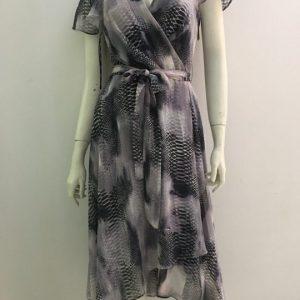 Đầm-xòe-nữ-công-sở-dự-tiệc-vải-voan-cao-cấp-thắt-nơ-eo-cổ-tim-hiệu-DKNY-size-4-hàng-xách-tay-mỹ
