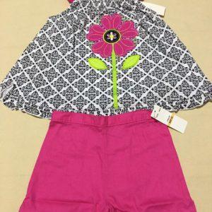 Bộ-đồ-bé-gái-cotton-không-tay-màu-hồng-size-6X-hiệu-Kids-hàng-xách-tay-mỹ
