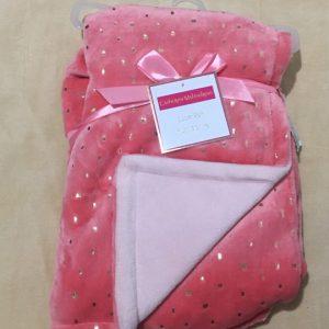 Chăn-khăn-mềm-quấn-em-bé-siêu-mềm-mại-màu-đỏ-hiệu-Catherine-Malandrino-chính-hãng-hàng-xách-tay-mỹ