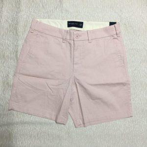 Quần-short-nam-hiệu-AbercrombieFitch-bằng-cotton-màu-hồng-phấn-size-28-30-hàng-xách-tay-mỹ-1