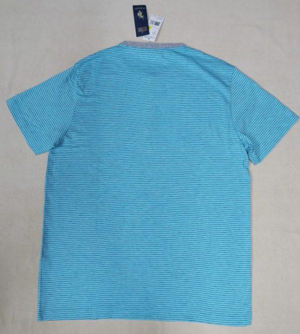 Ao-thun-nam-co-tron-cotton-tay-ngan-mau-xanh-soc-ngang-hieu-U.S.-Polo-Assn-size-M-chinh-hang-hang-my-2