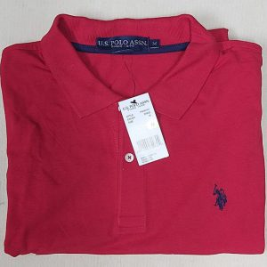 Ao-thun-polo-nam-U.S.-Polo-Assn-form-regular-cotton-co-be-ngan-tay-mau-do-do-size-M-chinh-hang-hang-my