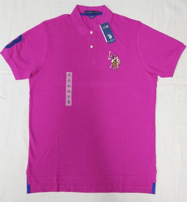 Ao-thun-polo-nam-U.S.-Polo-Assn-form-regular-cotton-co-be-ngan-tay-mau-tim-size-SM-chinh-hang-hang-my-1