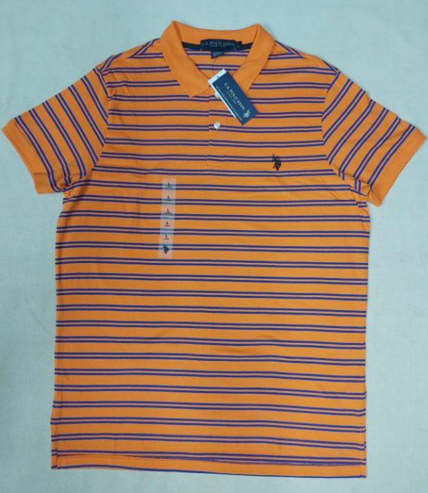 Ao-thun-polo-nam-U.S.-Polo-Assn-cotton-slim-fit-co-be-ngan-tay-mau-cam-soc-ngang-xanh-size-L-chinh-hang-hang-my-1