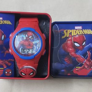 Dong-ho-deo-tay-tre-em-man-hinh-led-Marvel-Spider-man-mau-do-hang-hieu-Accutime-my